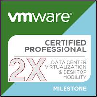 VMware Certified Professional 2X Logo